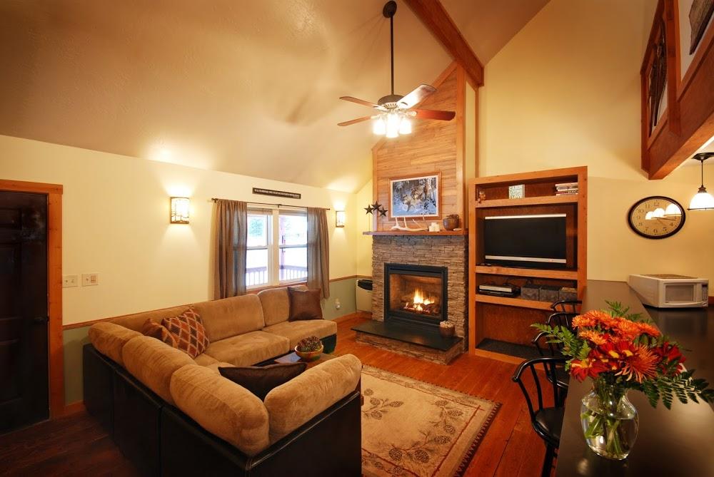 Montana Rock Creek Cabin
